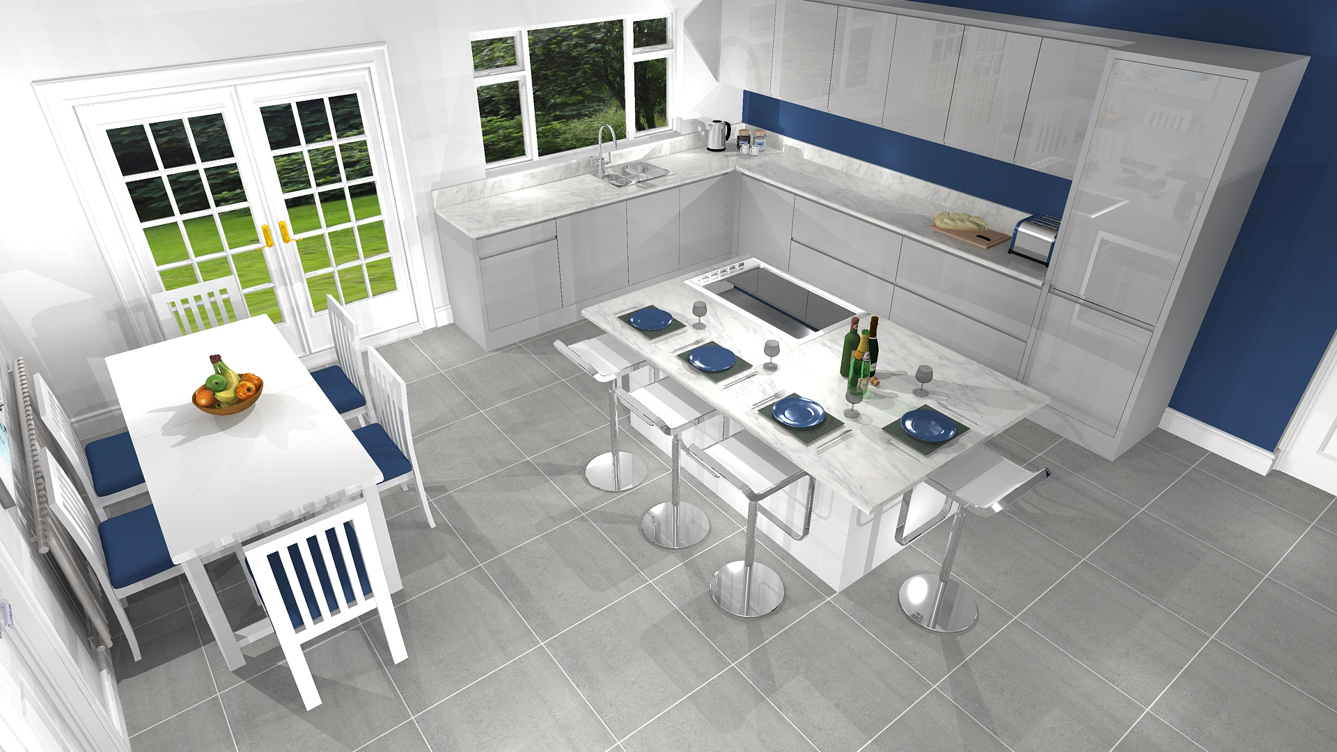 Kitchen portfolio design for Mr & Mrs M